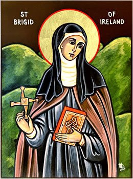 img ST. BRIGID (Bridget, Bridgit, Bride), Second Patron-Saint of Ireland