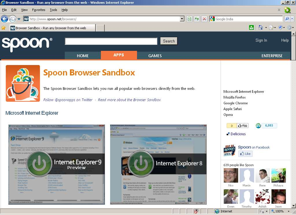 wwwescape's Blog: Spoon Browser Sandbox: Perfect Cross-Browser Testing