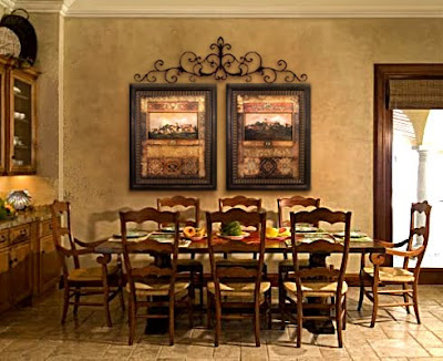 Babydoll & Sweetpie: Tuscany decor ideas for Roxanne on Traditional Kitchen Wall Decor  id=81874