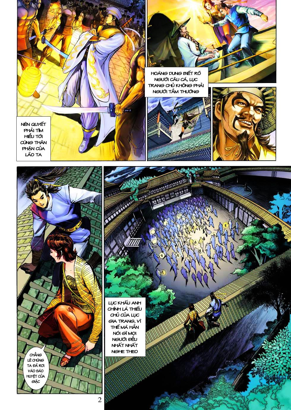 Anh Hùng Xạ Điêu anh hùng xạ đêu chap 27 trang 2