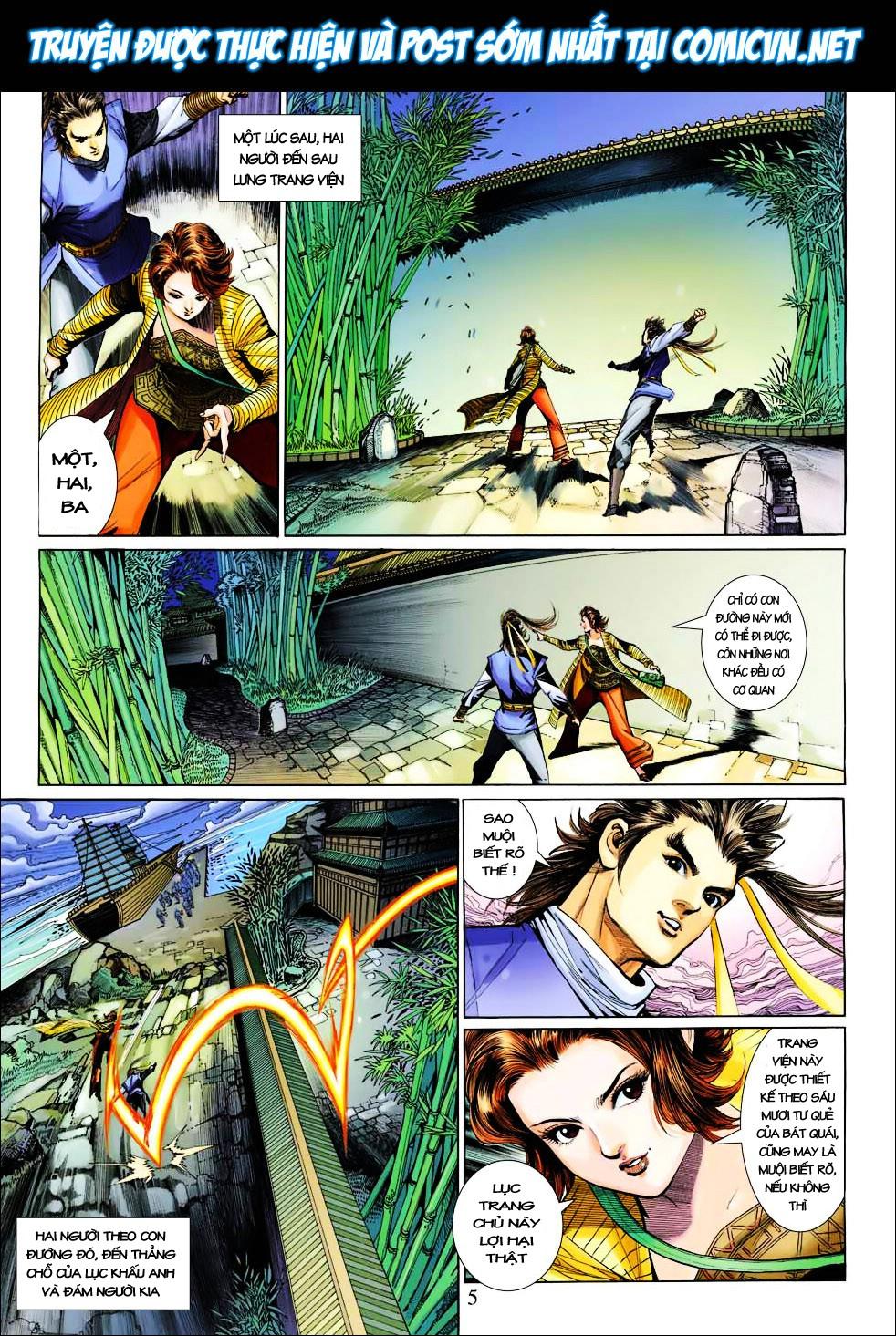Anh Hùng Xạ Điêu anh hùng xạ đêu chap 27 trang 5