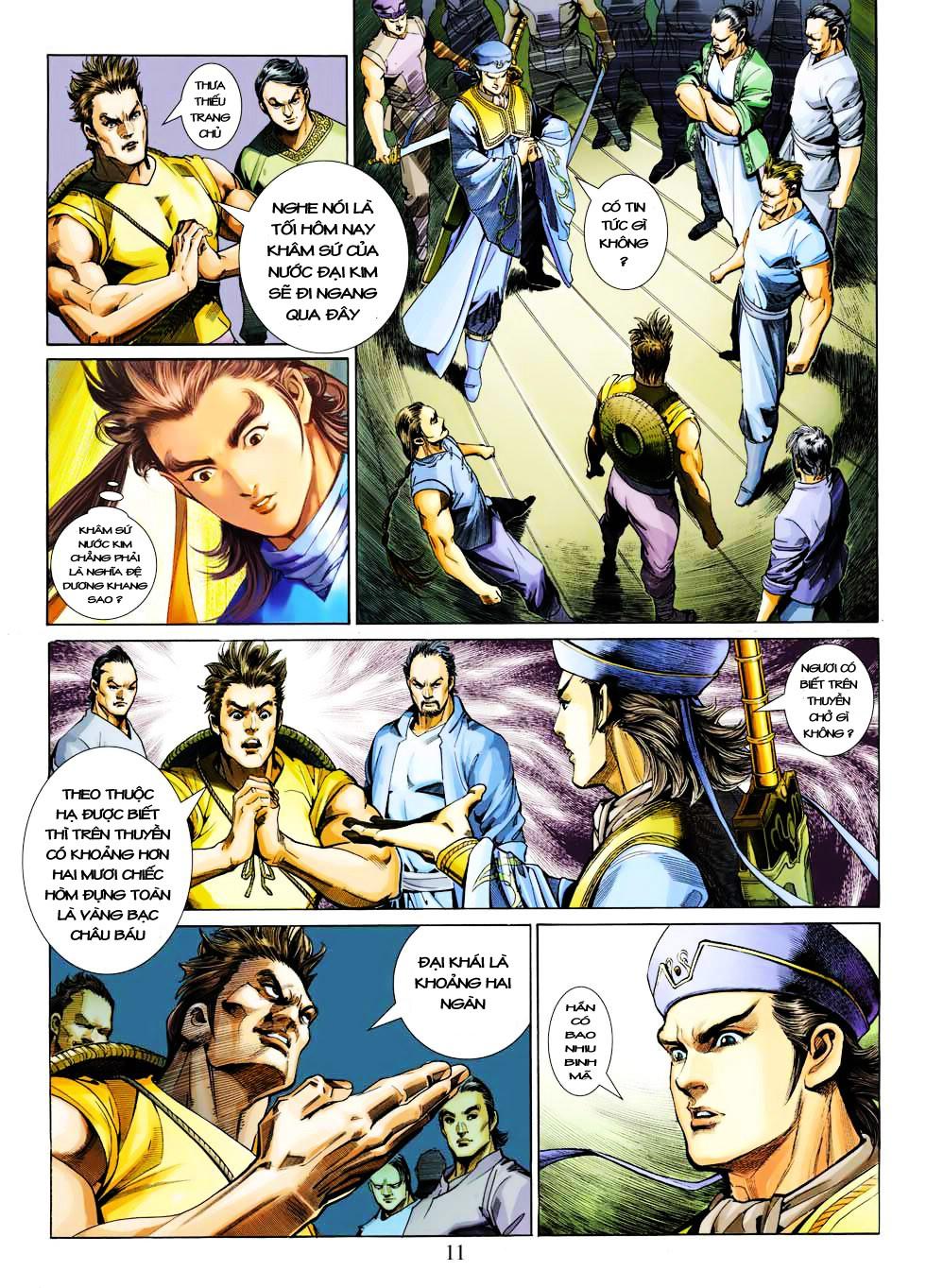 Anh Hùng Xạ Điêu anh hùng xạ đêu chap 27 trang 11