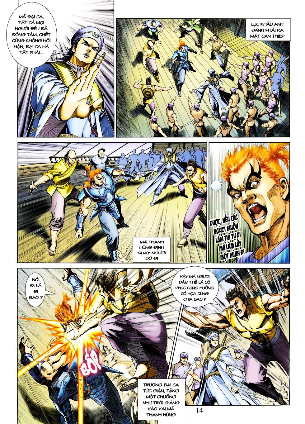 Anh Hùng Xạ Điêu anh hùng xạ đêu chap 27 trang 14