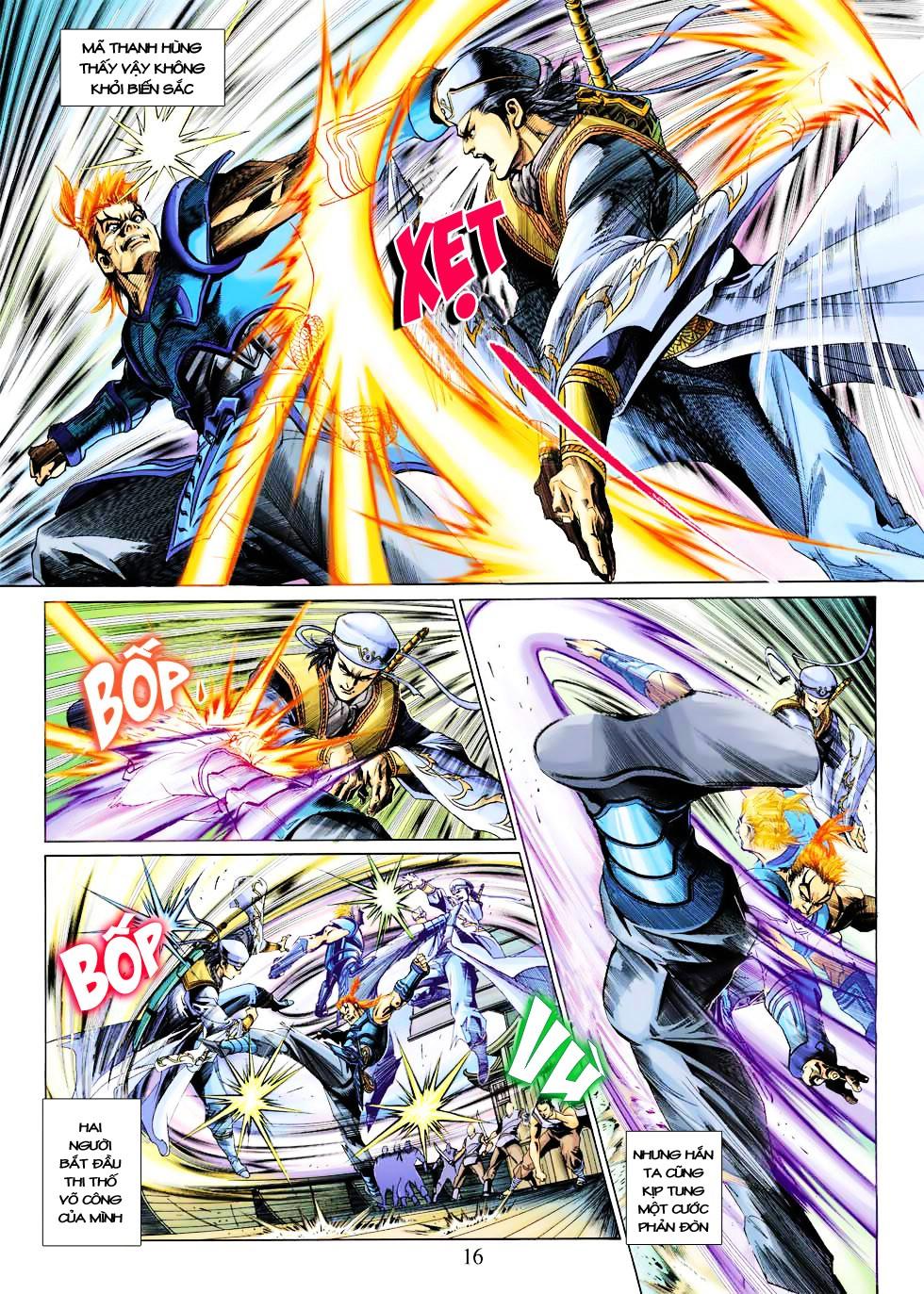 Anh Hùng Xạ Điêu anh hùng xạ đêu chap 27 trang 16