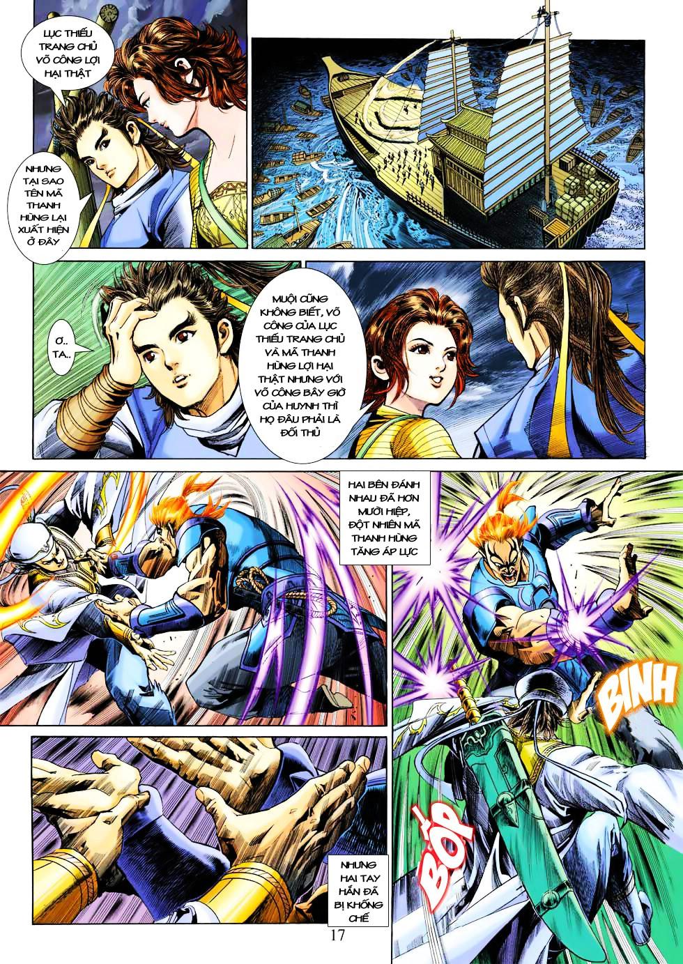 Anh Hùng Xạ Điêu anh hùng xạ đêu chap 27 trang 17