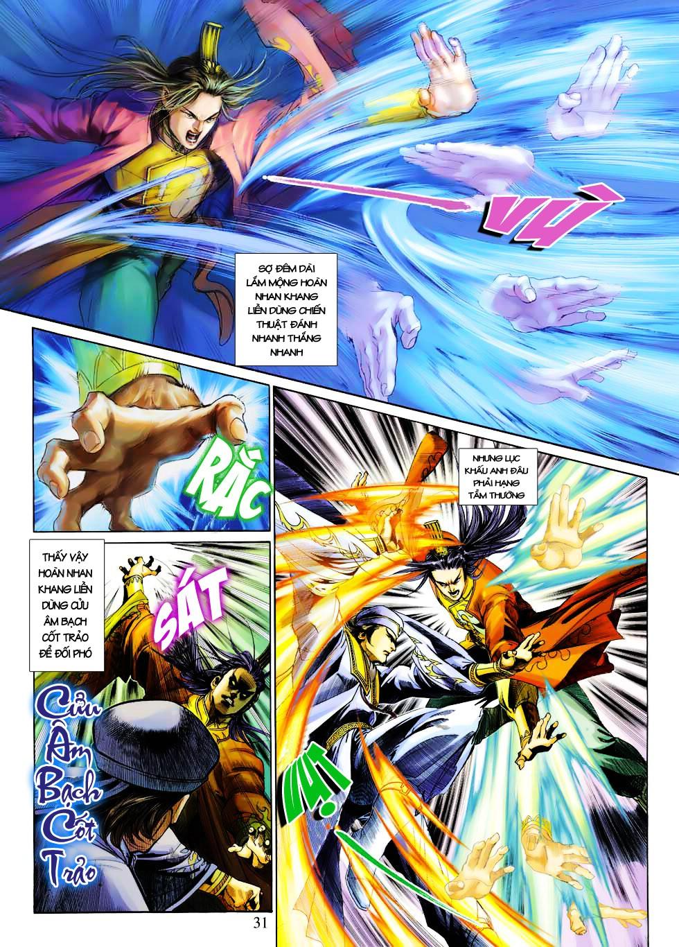 Anh Hùng Xạ Điêu anh hùng xạ đêu chap 27 trang 30