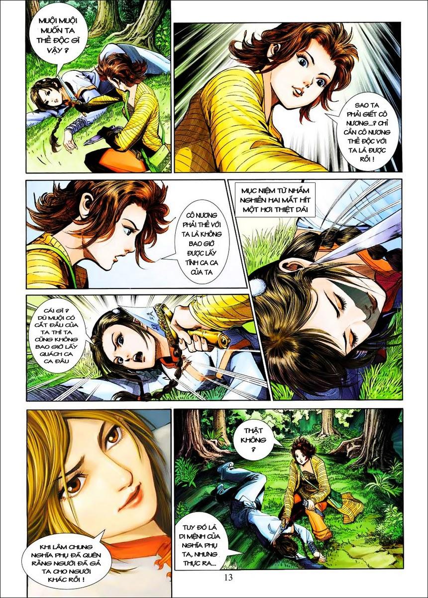 Anh Hùng Xạ Điêu anh hùng xạ đêu chap 25 trang 13