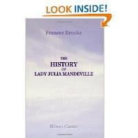 History of Lady Julia Mandeville