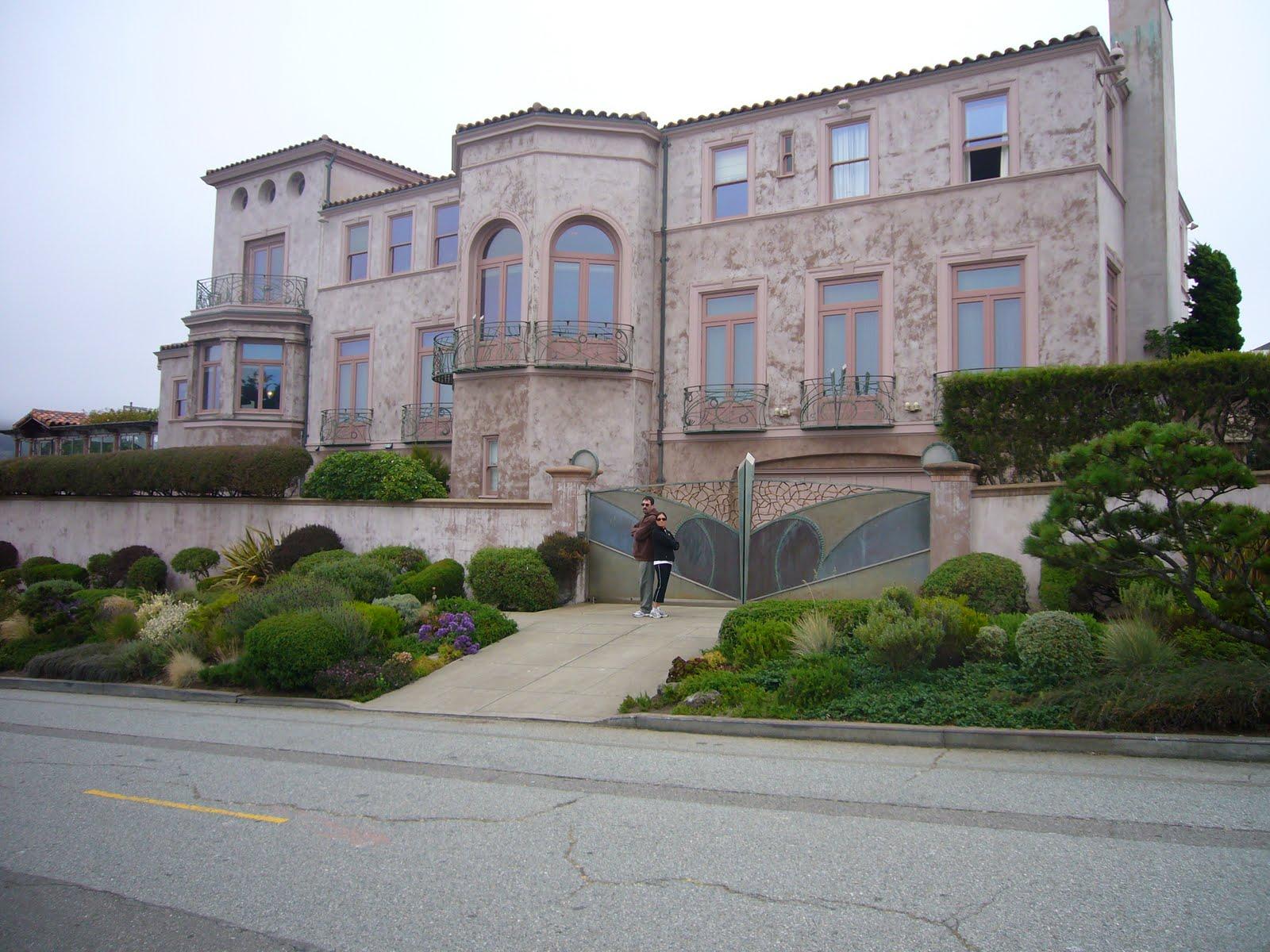 Walking San Francisco Robin Williams House
