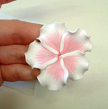 Clay In The Hands How To Make A Hibiscus