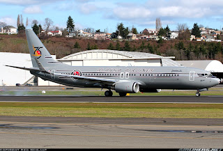 Alaska Airlines Starliner 75 in retro 1940s era DC3 Livery