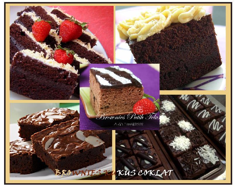 """Resep Cake Kukus Keju Coklat: """"Resep Comot Comot"""": BROWNIES KUKUS COKLAT"""