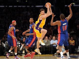 Lakers vs Pistons