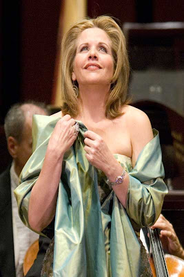 Renée Fleming, National Symphony Orchestra Season Opening Ball Concert, September 16, 2007, photo by Scott Suchman