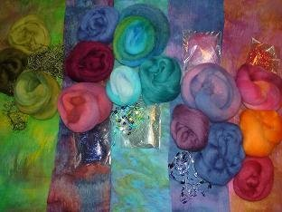 Nuno-felted Scarf Kits