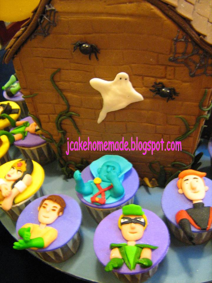 House Made Haunted Cupcakes