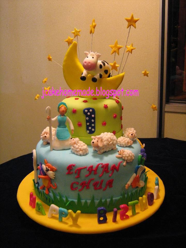 Nursery Rhyme Themed Cakes
