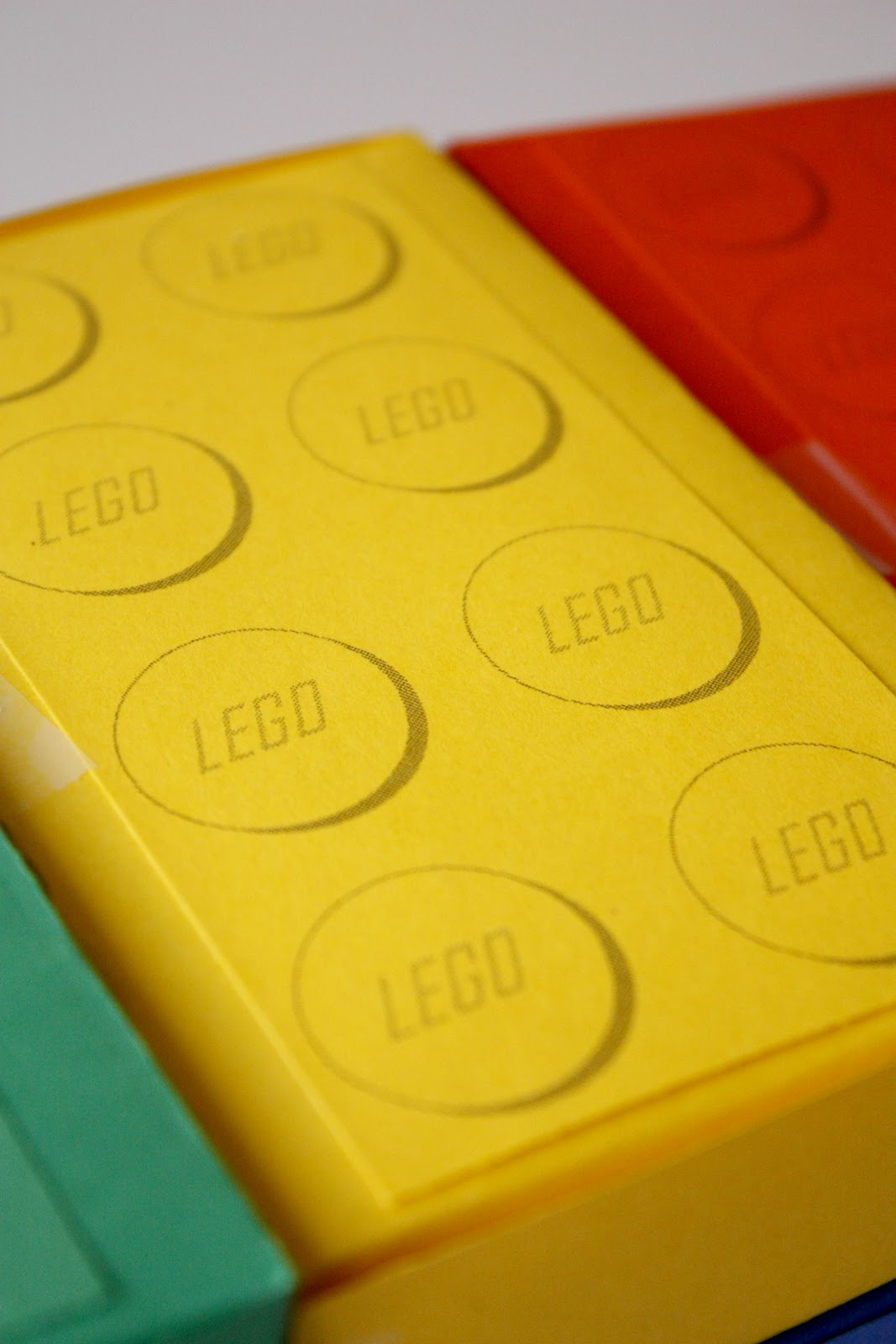 Lego Brick Favor Boxes And Free Printables