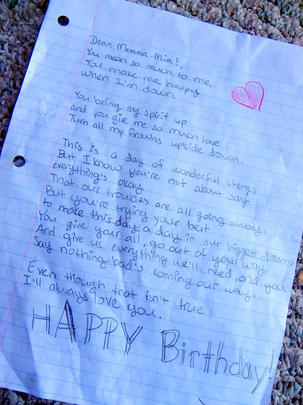 happy birthday letter to crush happy birthday letter levelings 13345