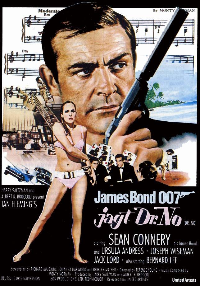 el mundo del cartel agente 007 contra el dr no1962