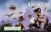 Cover image of science fiction classics anthology, Masters of Adventure, Issue 1. Click image for full sized original.