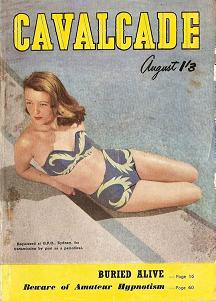 Cover of Australian magazine Cavalcade, August 1951 issue