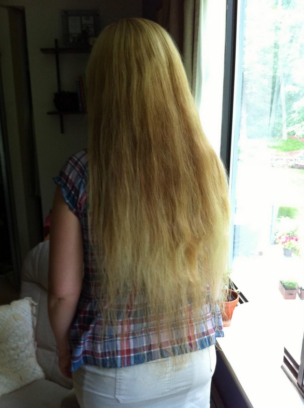 Twinkling Along: A Hair Raising Tale: My Long Hair Goal