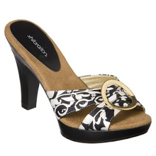 e568c61226b I don t like these Xhilaration Tera Sandals in black and white floral  either. Tacky.  17.99 is too much for them. They come in a multicolor print  and a