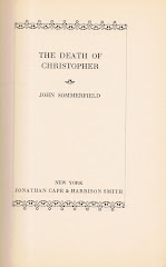 <i>The Death of Christopher</i> - John Sommerfield