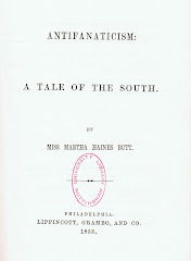 Anitfanaticism: A Tale of the South, by Martha Haines Butt