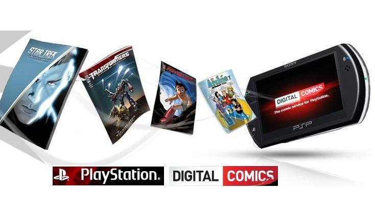digital comic reader psp download