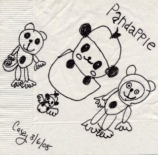 Pandapple coloring pages