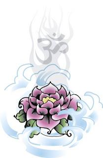 oito símbolos auspiciosos do Budismo - Flor de lotus
