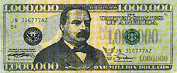 American Presidents Blog Grover Cleveland And The Million