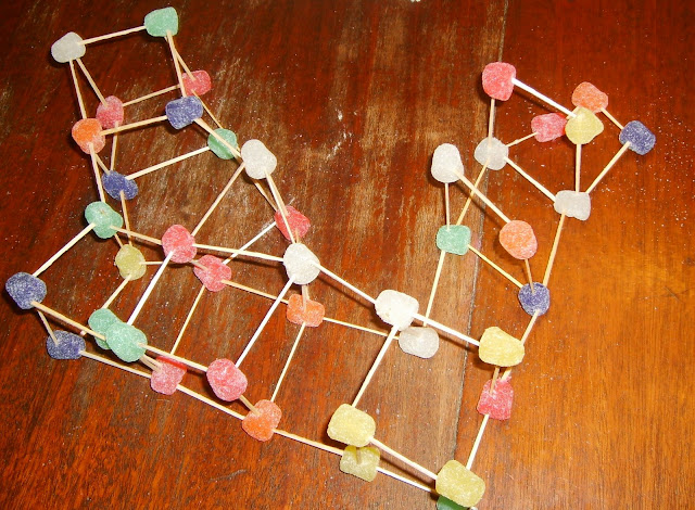Things Build Toothpicks And Gum Drops