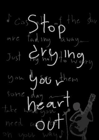 stop crying your heart lyrics