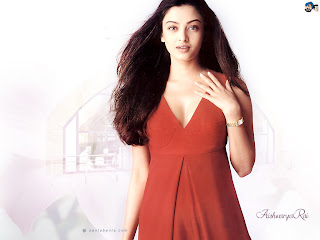 Aishwarya In Red Skirt