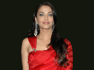 Aishwarya In Red Saree 6
