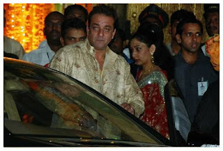 Sanjay Dutt Manyata Dutt Attended Marriage