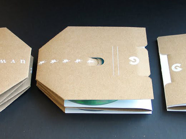 Sustainable CD Case On Packaging Of The World Creative Package Design Gallery
