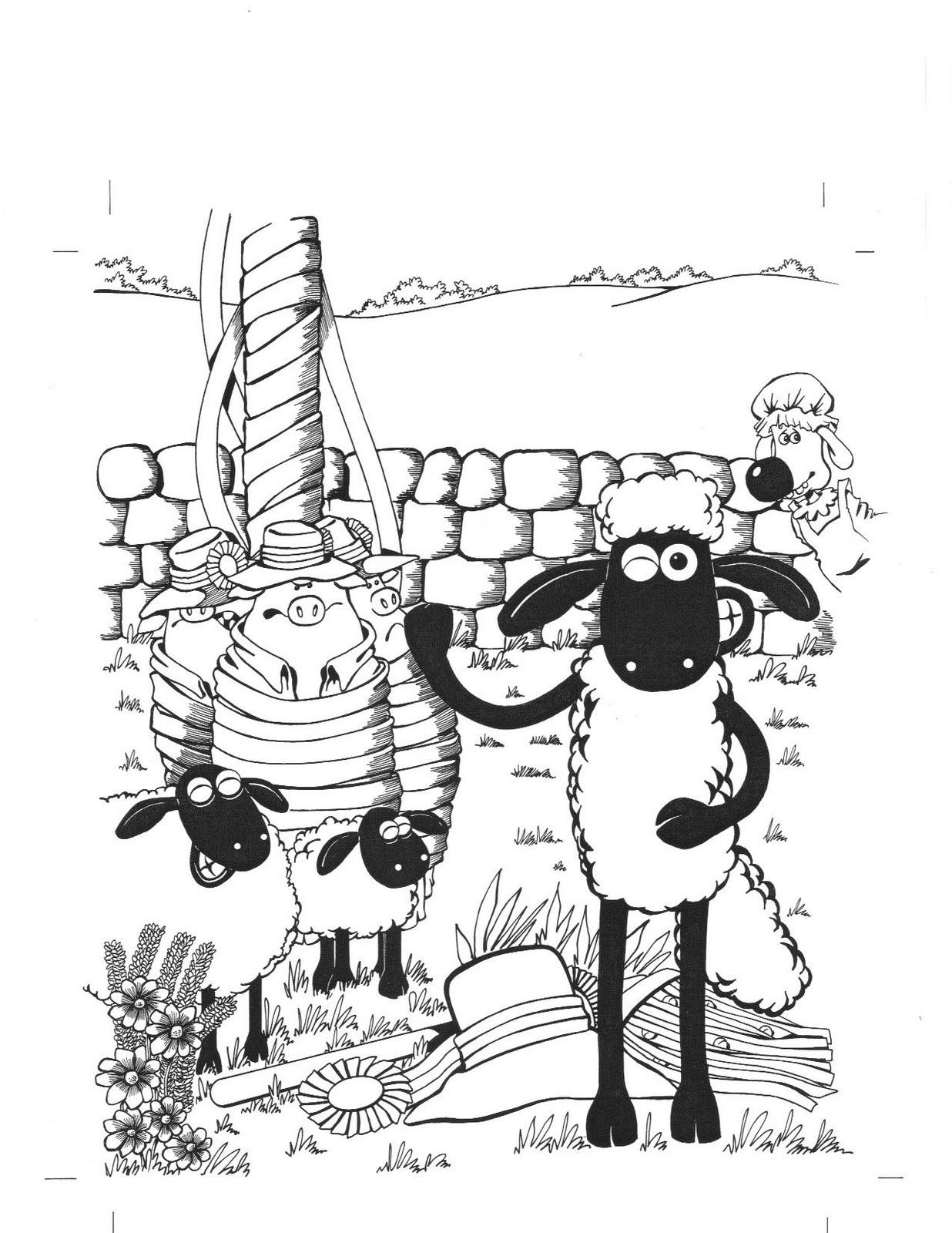 Mychailo Kazybrid's Character Creation: Shaun the Sheep