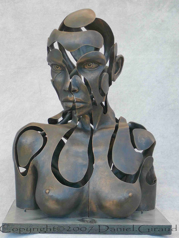 buste sculpté articulé