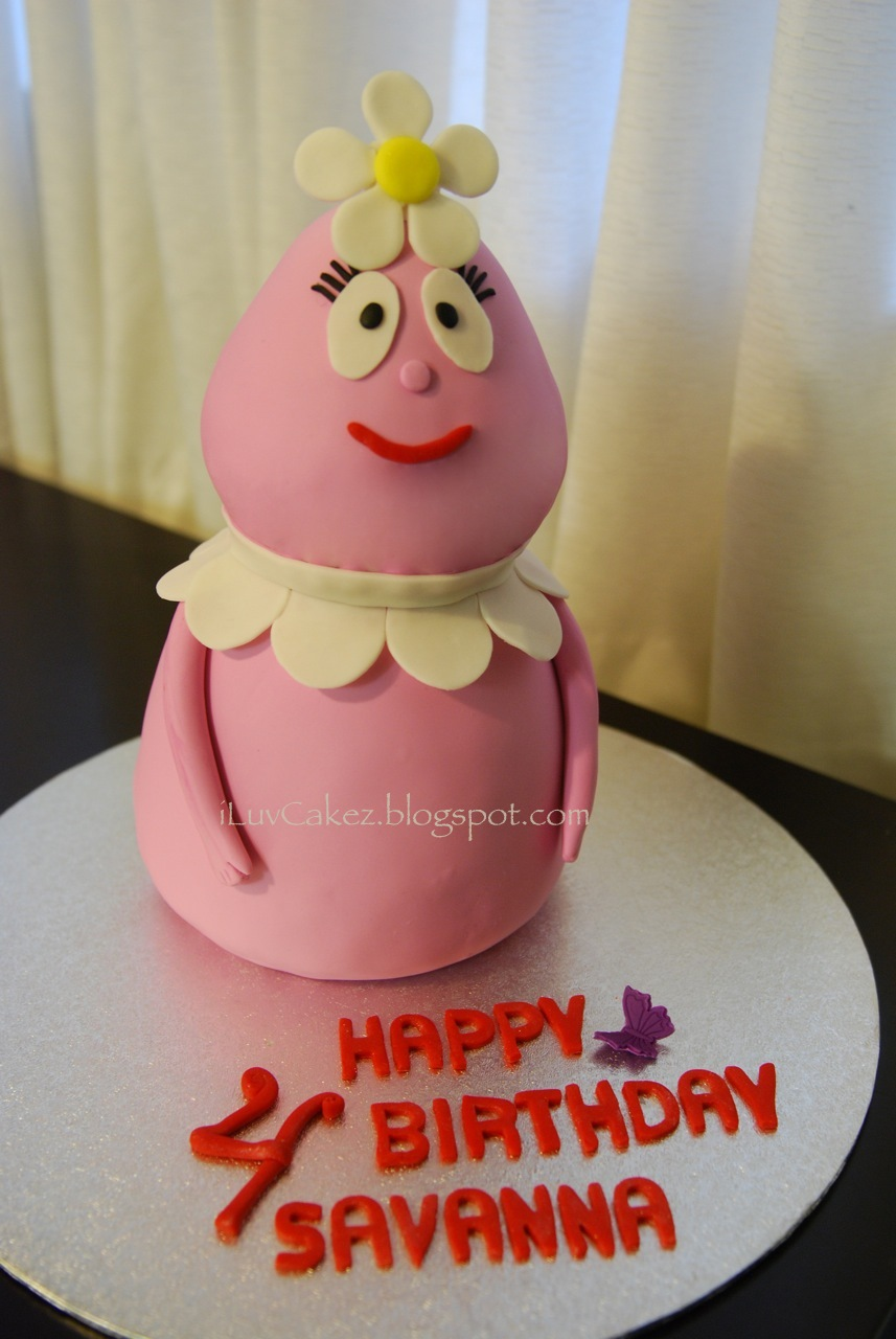 Iluv Cakez Savanna S Foofa Cake And Yo Gabba Gabba Cupcakes