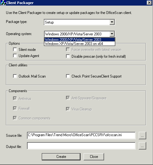 Clint Boessen's Blog: Trend Micro Client Packager
