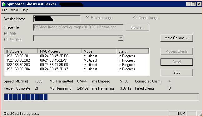 Ghost Server