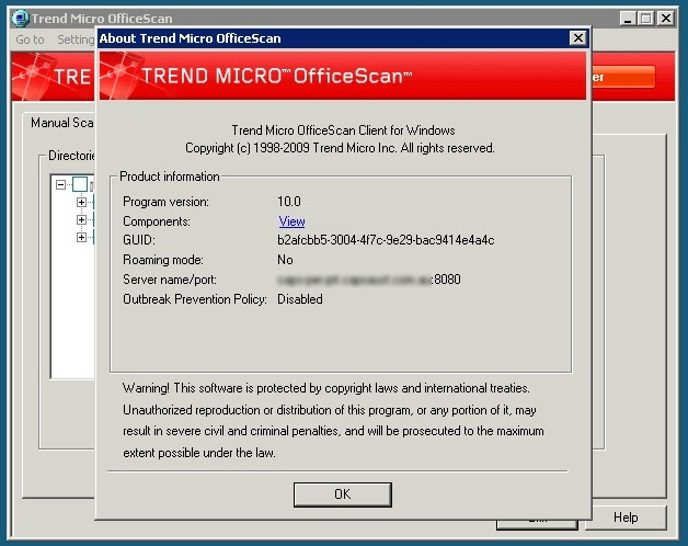 Trend Micro Officescan Version History [ministryofmath info]