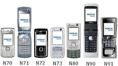 Nokia Nseries Smart Phones