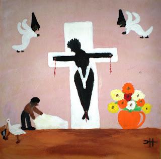 American Folk Art Cooperstown Clementine Hunter S Black