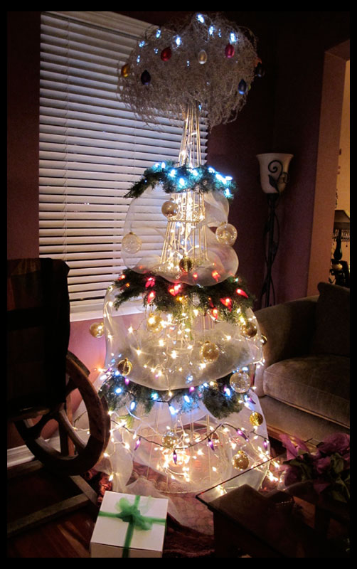 Non Traditional Christmas Tree.Creativity Life Inspiration And Design Non Traditional
