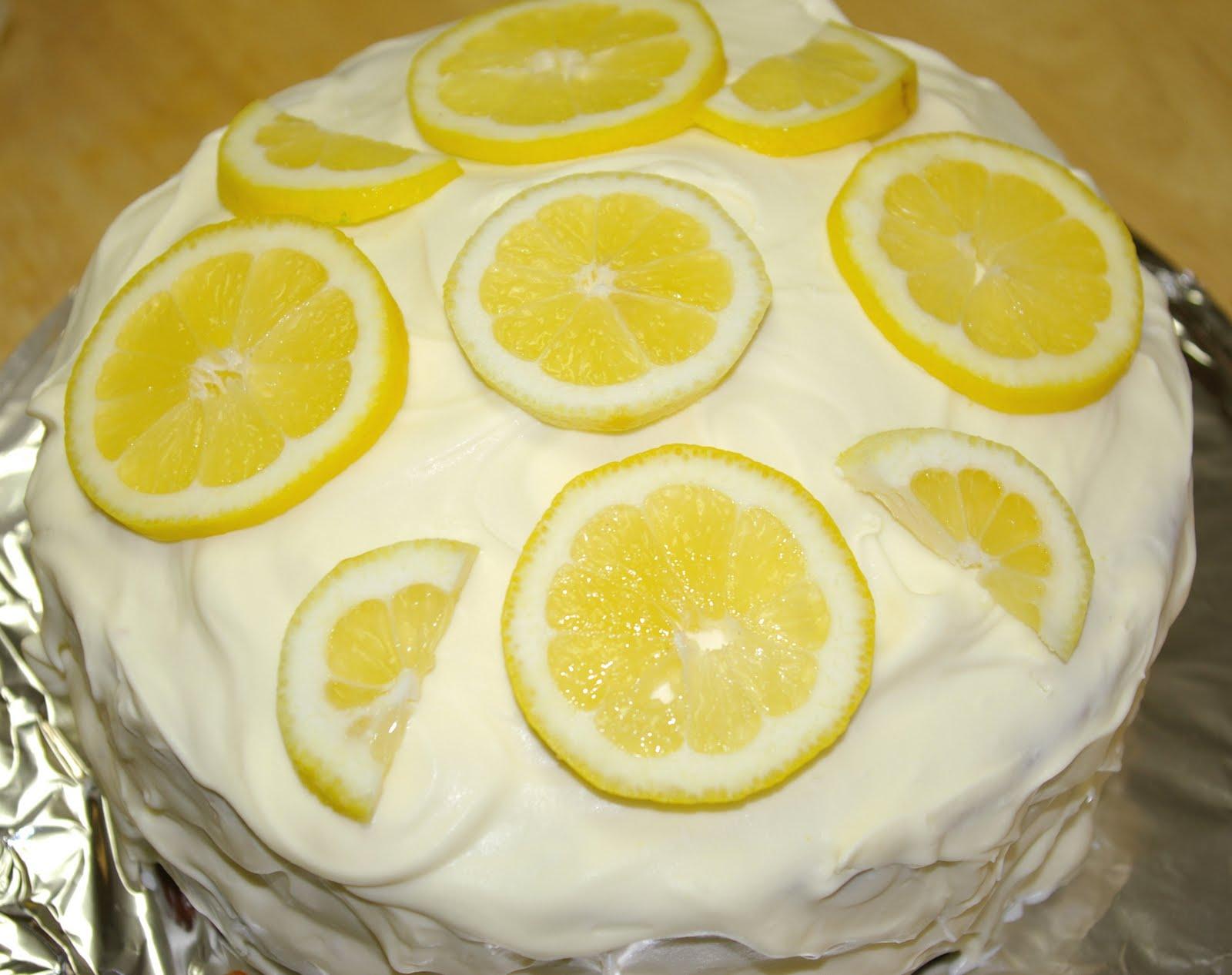 Lemon Curd Dump Cake